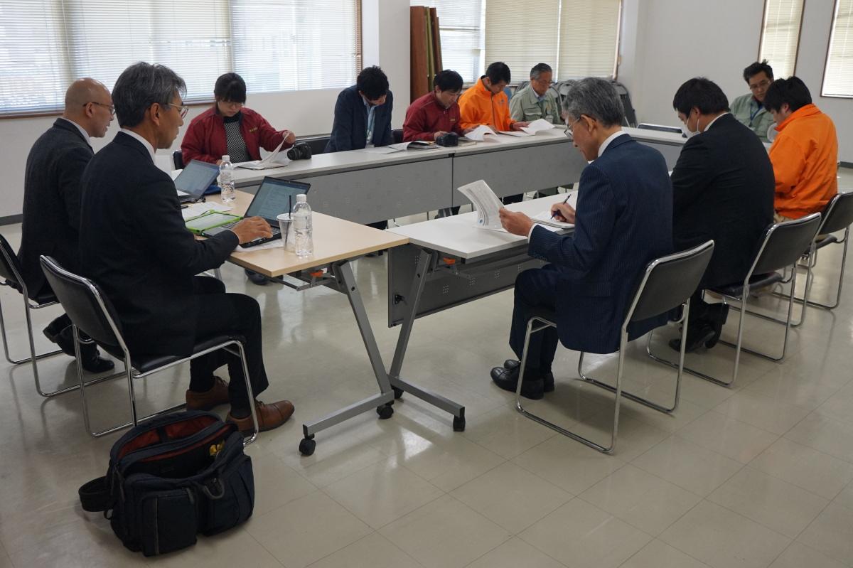 ISO審査3日目_4