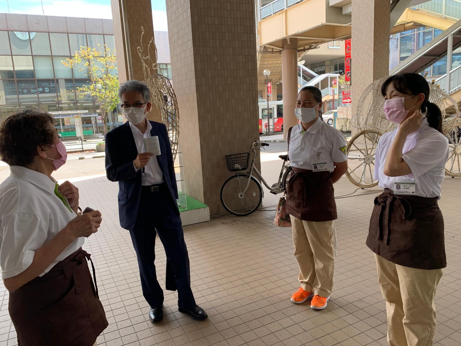 「きりしま国分山形屋と鹿銀国分支店」様1